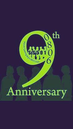 #9YearsWithSS501 #SS501 #HappyAnniversary #Triples #OMO #WOW #HyungJun #HyunJoong #JungMin #KyuJong #YoungSaeng #SS501Forever #Kpop #Koreanfever  ♥ ::)