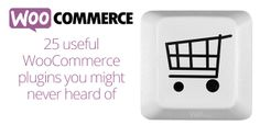 25 useful WooCommerce plugins you might never heard of