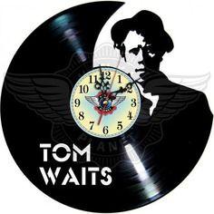 23,50 € Horloge vinyle décoration tom waits