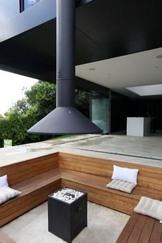 The Fire Pit house