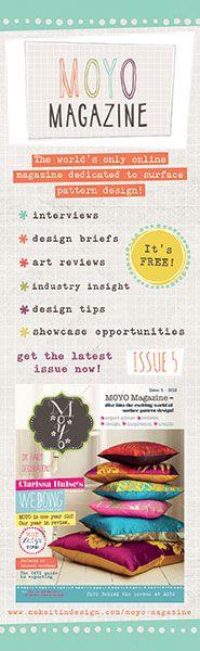 MOYO Magazine, online surface pattern design magazine