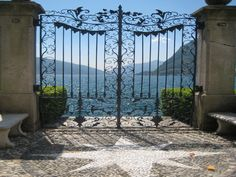 Lake Lugano Gate in person it is even more beautiful!