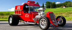 Awesome Hot Rod Fire Truck - Car Of The Day (shared via SlingPic)