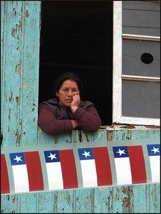 """""""Puro Chile es tu Casa azulada"""" Regalo por instantes, via Flickr"""
