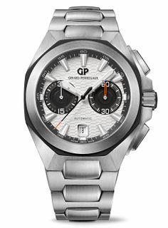 710d9c38b31 Girard-Perregaux - Chrono Hawk with Steel Bracelet
