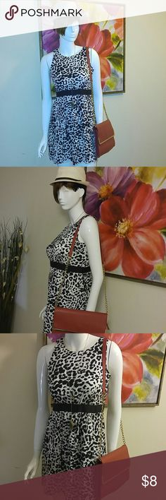 Cute Animal print Dress Worn once...in excellent condition...needs a home...bundle with that purse and get 5% off mi by Heidi Weisel Dresses Asymmetrical