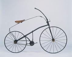 Bicyclette de Meyer-Guilmet (source : © Musée des arts et métiers-Cnam, Paris / photo Pascal Faligot)