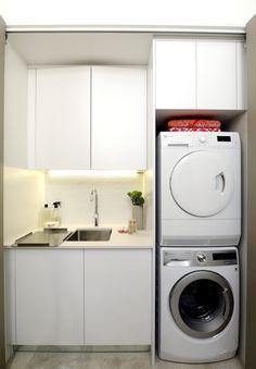 Carlene & Michael   Apartment 6 Reveal 2   Laundry   The Block Shop - Channel 9
