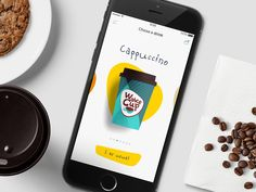 Coffee app - Design concept by AdMike