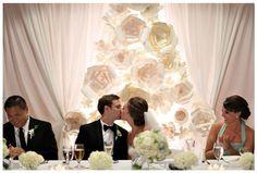 Diy – Decoração de casamento com flores gigantes de papel |                                                                                                                                                                                 Mais