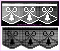 Risultati immagini per miria croches e pinturas Filet Crochet Charts, Crochet Borders, Crochet Cross, Thread Crochet, Love Crochet, Learn To Crochet, Crochet Lace, Crochet Shawl, Lace Patterns