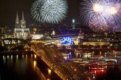 Kölner Lichter, Köln / #Cologne ©KölnTourismus GmbH, Dieter Jacobi, #Feuerwerk / #Fireworks
