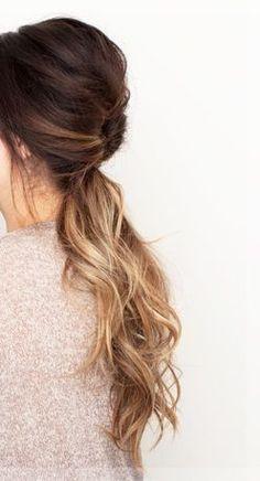 low ponytail haircuts 2016 #haircuts #hairstyles