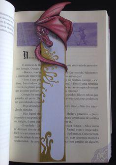 Marcador de livro Dragão by Magia & Ficção