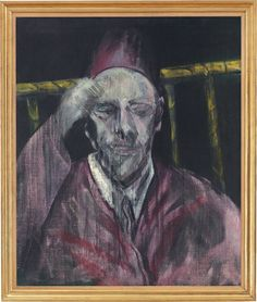 Francis Bacon, Head with Raised Arm, Oil on Canvas. 24 x 20 in x cm). Estimate This work is offered in the Post-War and Contemporary Christie's London. © The Estate of Francis Bacon. Francis Bacon Pope, Francis Bacon Works, Art Articles, Scenic Photography, Mark Rothko, Sculpture, Life Drawing, Art Techniques, Impressionism