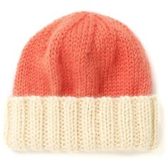 The North Circular Pink Wool Dip-Dye Beanie