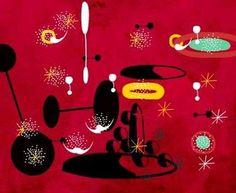 Rouge, par Joan Miro
