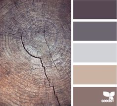 "shades of purple / color palette / Design Seeds amazing! Searching for a Palette or colors? this site has an awesome ""find the palette you love"" feature Design Seeds, Paint Schemes, Colour Schemes, Color Combos, Rustic Color Schemes, Rustic Colors, Rustic Decor, Tuscan Decor, Wall Colors"