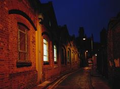 Jack the Ripper alley, Whitechapel, London, England