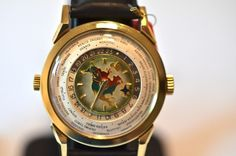 Patek Philippe world-time watch. Went for $2 million.