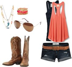 """""""chillin' on a dirt road :)"""" by taylor-cole-28 on Polyvore"""