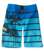 Kids' Striped Palm Boardshorts PS From Aéropostale