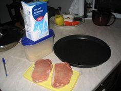 Lonza impanata al crisp (quindi light)