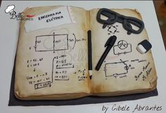 Electrical Engineering Book Cake
