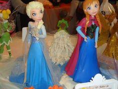 Disney Frozen Glitter Glider Anna Elsa Olaf Doll Magiclip