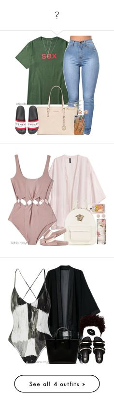 """""""💋"""" by paris-doll ❤ liked on Polyvore featuring MICHAEL Michael Kors, Givenchy, mizuki, Bloomingdale's, ASOS, Yves Saint Laurent, Samantha Pleet, Casetify, Versace and Bamboo"""