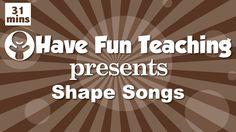 Shape Songs for Children