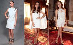 Giselle Batista, Giovanna Lancellotti e Letícia Colin também seguiram a tendência do modelito todo branco e deixaram as pernas de fora