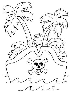 Download free pirate-themed coloring pages for kids.