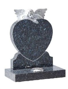 Heart Shaped Headstones And China Black Granite Tombstones And ...