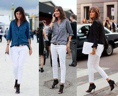 white pants!