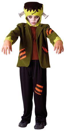 Disfraz de Frankenstein para niño, ideal para Halloween. Disponible en www.vegaoo.es