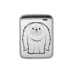Pekingese Dog Cartoon Sleeves For iPads