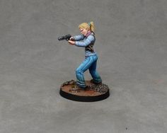 How to Paint Andrea from Walking Dead