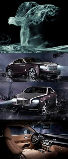 #Rolls-Royce Wraith is the most Powerful Rolls-Royce in History! Stunning car!