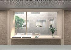 Ferrari Architectes Maison de l'Environnement Lausanne Lausanne, Ferrari, Oversized Mirror, Windows, Furniture, Home Decor, Urban Planning, Architects, Environment
