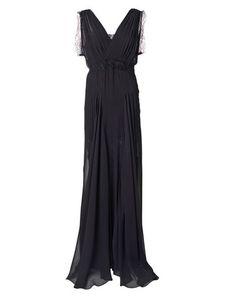Eilalia Silk Maxi Dress by Malene Birger Malene Birger, Top Ten, Silk, Party, Black, Tops, Dresses, Fashion, Vestidos