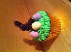 Easter cupcake Easter Cupcakes, Desserts, Food, Tailgate Desserts, Meal, Deserts, Essen, Dessert, Postres