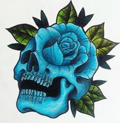 Butterfly With Flowers Tattoo, Skull Tattoo Flowers, Skull Rose Tattoos, Girl Arm Tattoos, Horse Tattoo Design, Skull Tattoo Design, Fake Tattoo Sleeves, Wicked Tattoos, Beautiful Dark Art