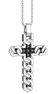 Cross Jewelry, Silver Jewelry, Mens Crosses, Jeep Jk, Diamond Brooch, Cross Pendant, Jewerly, Rings For Men, Mens Fashion