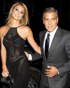 George Clooney splits from WWE wrestler Stacy Keibler   The Sun  Showbiz