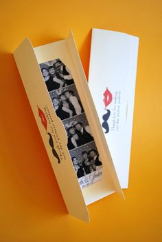 Photobooth - photo strip cover for your guests #vintagecarnival #wedding