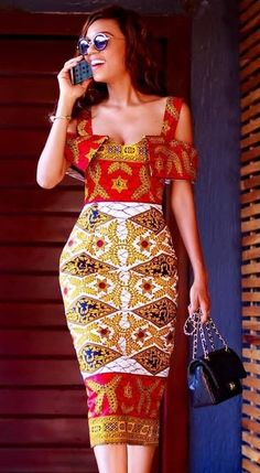 The complete collection of Exotic Ankara Gown Styles for beautiful ladies in Nigeria. These are the ideal ankara gowns African Inspired Fashion, Latest African Fashion Dresses, African Print Dresses, African Print Fashion, Ethnic Fashion, African Dress, Ankara Gown Styles, Ankara Gowns, Ankara Clothing