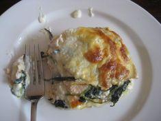 lasagne spinaci salmone
