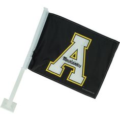 Rico Appalachian State University Car Flag (Black, Size ) - NCAA Licensed Product, NCAA Novelty at Academy Sports