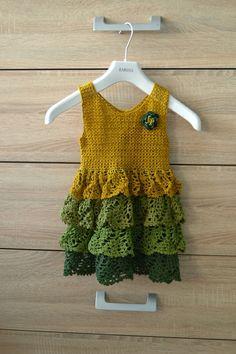 Vestido de ganchillo bebé. Debate sobre LiveInternet - Servicio rusos Diarios Online